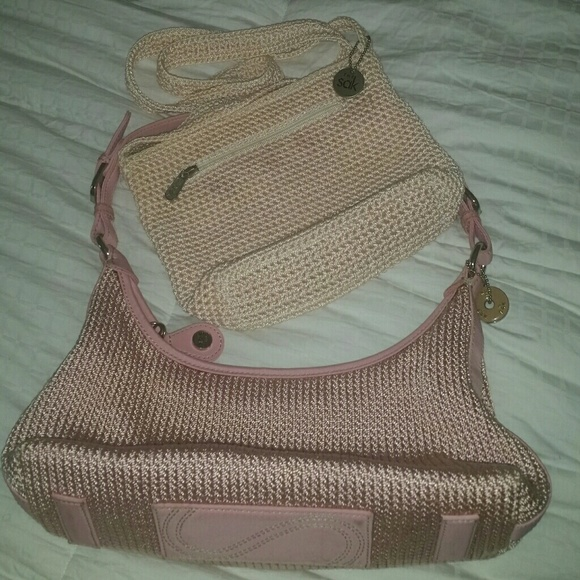 The Sak Handbags - The SAK Lot 2 Woven Handbags Super Cute